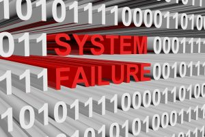 system failure is represented as a binary code