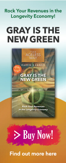 Buy Gray is the New Green by Karen Sands